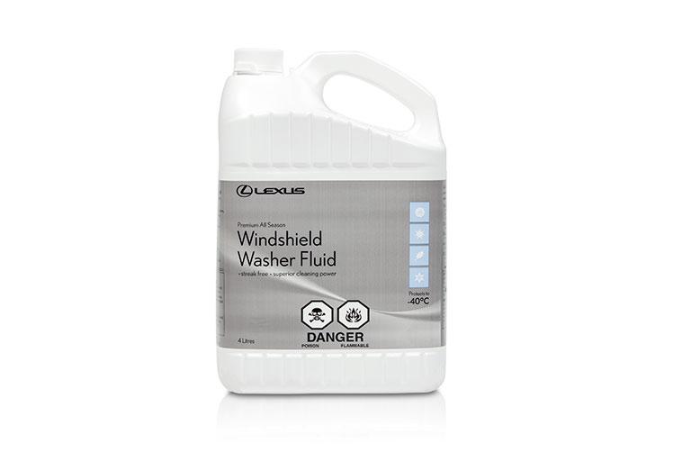 Lexus premium brand windshield washer fluid