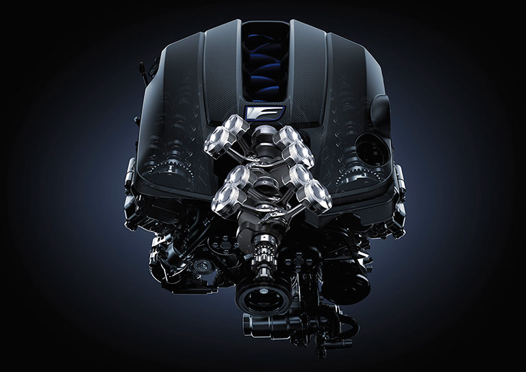 Lexus F series engine